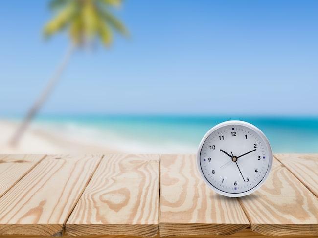 Natten till söndag 28 oktober flyttas klockan tillbaka en timme – från 03.00 till 02.00.