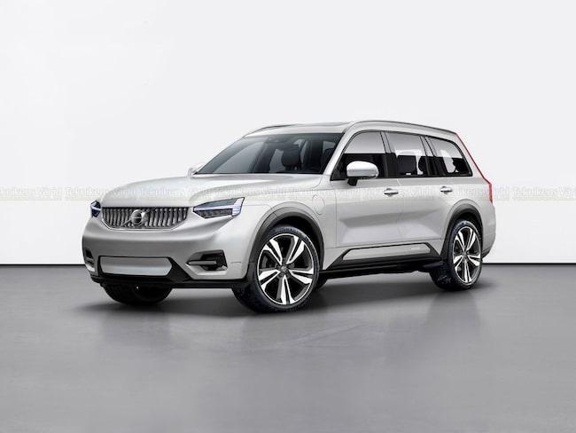 Så här kan Volvos kommande jättesuv se ut. (OBS! Illustration.)