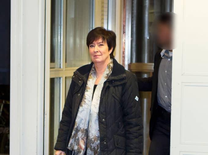 Mona Sahlin handplockade sin tidigare livvakt som ska ha fått flera förmåner. Foto: Roger Vikström