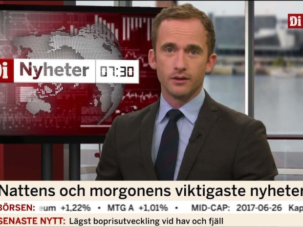 Di Nyheter 7.30 27 juni 2017