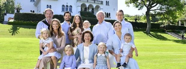 Här är svenska kungahusets familjeträd
