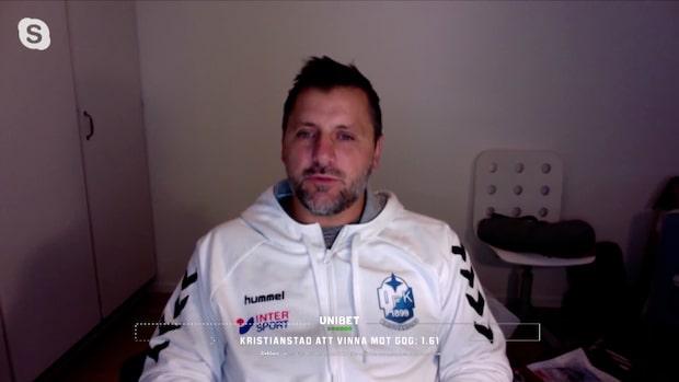 Ljubomir Vranjes inför Kristianstads CL-spel