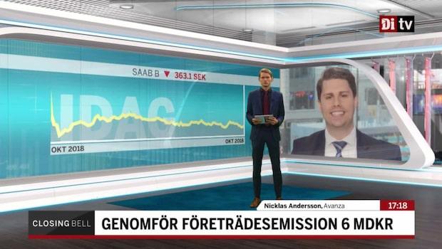 """Andersson: """"Marknaden vet inte hur man ska tolka Saab"""""""