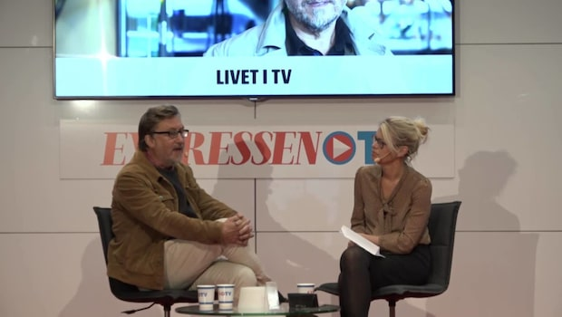 Janne Josefsson besöker Expressens scen på bokmässan