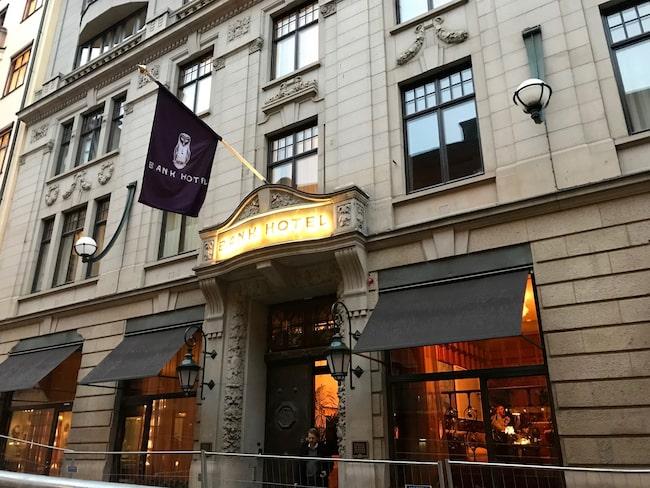 Näst bästa hotellet i Stockholm: Bank Hotel.