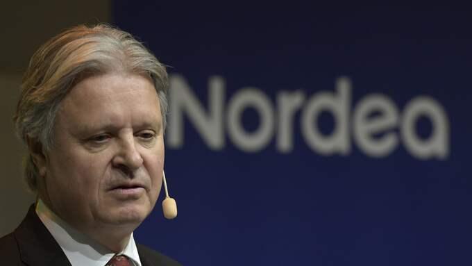Nordeas vd Casper von Koskull. Foto: JANERIK HENRIKSSON/TT