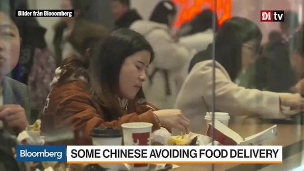 Världens Affärer: Så slår viruset mot matleveransföretag och restauranger