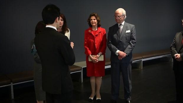 Silvias kupp inför publiken i Japan