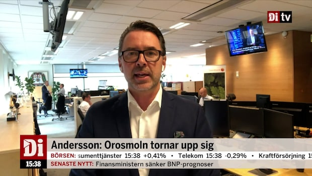 """Fredrik Warg: """"Utan tvekan att det går mot sämre tider"""""""