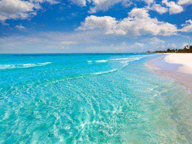 Fort Myers strand som vi är vana att se den.