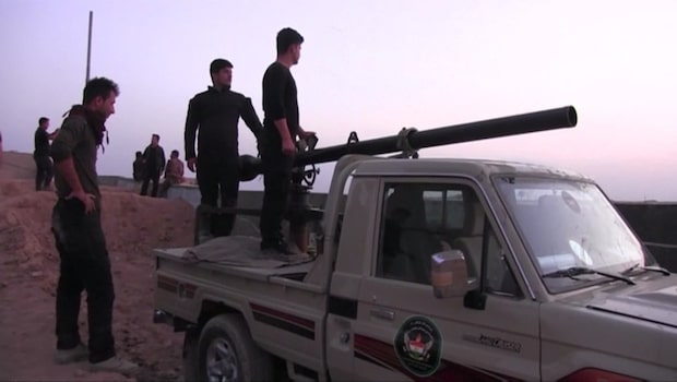 Strider har börjat söder om Kirkuk