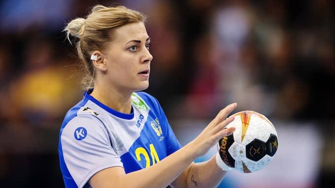 Bästa målskytt i Sverige blev Nathalie Hagman. Foto: CARL SANDIN / BILDBYRÅN