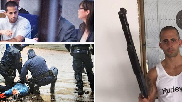 Trippelmördaren Saliba flyttas till säkerhetsavdelning – efter dödshot