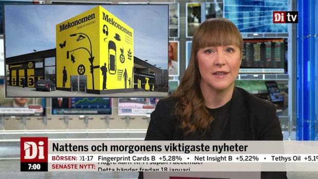 Morgonkoll: Mekonomen vinstvarnar