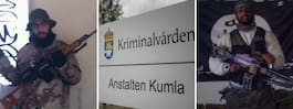 Terrormännens liv i svenskt fängelse: Våldsdåd och hot
