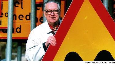 Herr Gårmans skapare Karl-Gustaf Gustafson blev 89 år gammal.