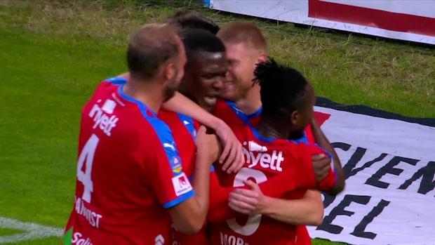 Höjdpunkter: Helsingborg- AFC Eskilstuna