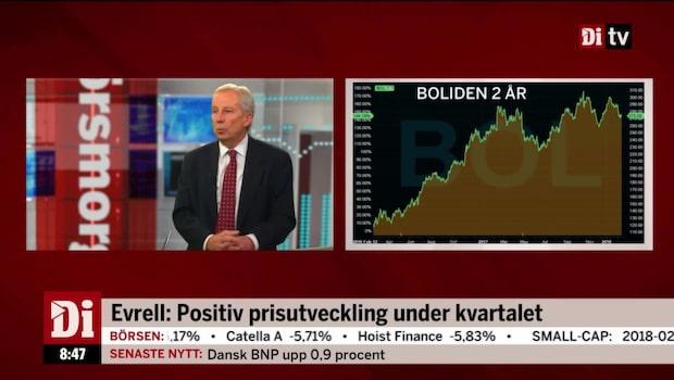 Lennart Evrell, vd Boliden, kommenterar rapporten