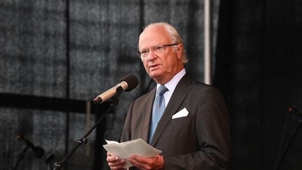 Kungens känslosamma tal om Borgholm