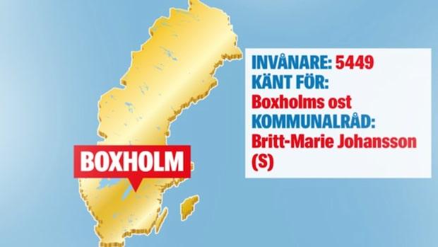 Då försvinner ostfabriken i Boxholm