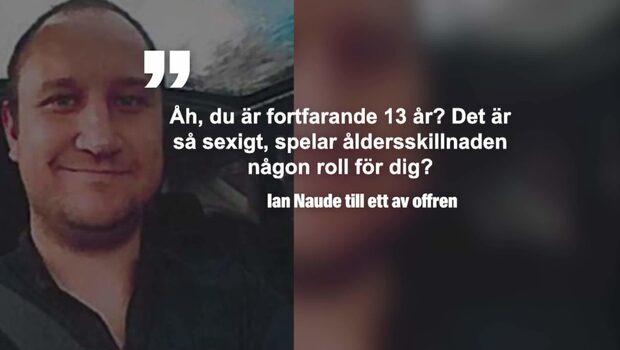 Polis avslöjad som pedofil efter meddelandena