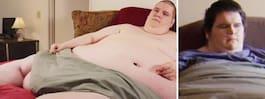 Tv-stjärnan död – efter viktraset på 180 kilo