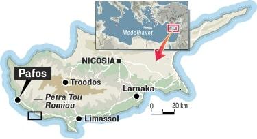 Karta Cypern Flygplats.Cypern Ga Och Bada Med Afrodite Europa Expressen Allt Om Resor