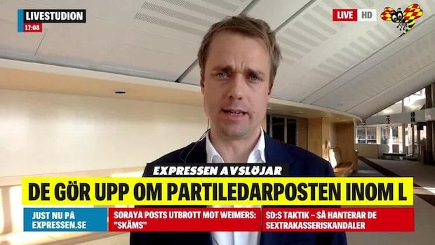 Tomas Nordenskiöld om kandidaterna att bli L:s nya partiledare
