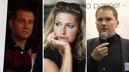 """Vem säger vad? Fabian Fjälling, Katerina Janouch eller Vávra Suk? """"Det bisarra är när de mest högljudda kan påstå att de är åsiktsförtryckta"""", skriver Expressens krönikör Lars Lindström."""