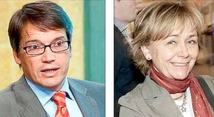 Socialminister Göran Hägglund och justitieminister Beatrice Ask. Foto: ROGER VIKSTRÖM/CHRISTIAN ÖRNBERG