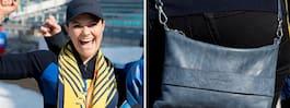 Victorias udda modedetalj när hon hejade i Paralympics