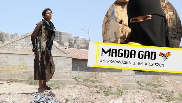 Magda Gad – Pradaväska i en krigszon