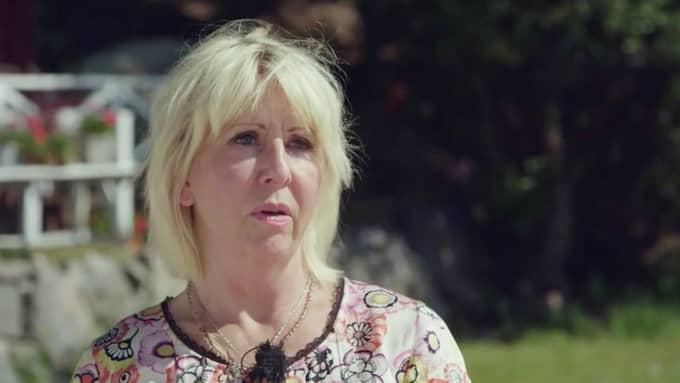 """Pia Johansson medverkar i kvällens avsnitt av """"Renées brygga"""" och berättar om en stark livshändelse som präglat henne. Foto: TV4"""