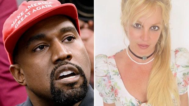 Fansen kräver Spears fri – efter Kanye Wests presidentbesked