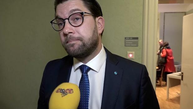 Åkesson efter migrationssamtalen: Inte helt nöjd