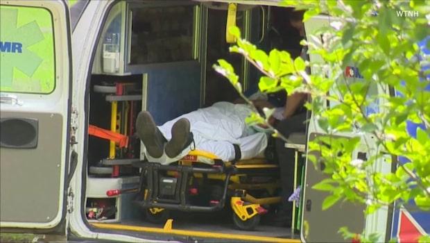 Skräcksynen i parken: Över 90 personer föll ihop efter överdos