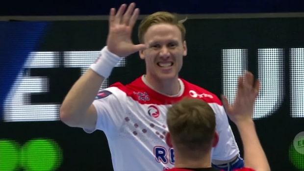 Höjdpunkter: Norge gruppetta – vann med reservlag