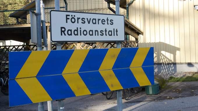 FRA och Säpo har lämnat en hemligstämplad rapport till regeringen. Foto: SVEN LINDWALL