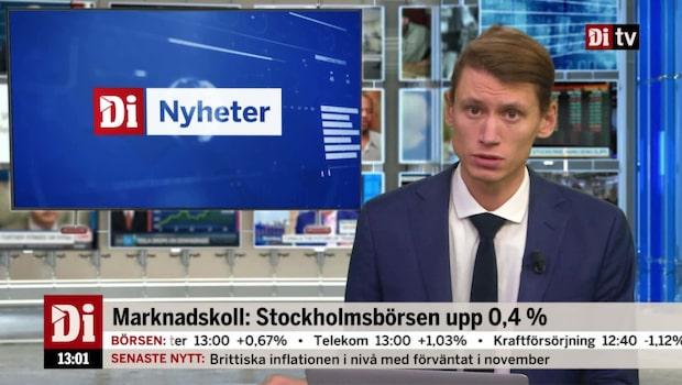 Di Nyheter 13.00 19 dec - KI: Avmattningsfas väntar