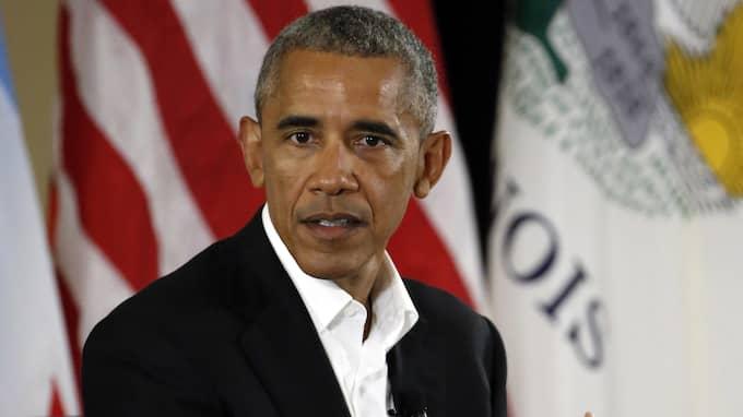 ...där Obama föll, skriver Mats Larsson Foto: NAM Y. HUH / AP TT NYHETSBYRÅN