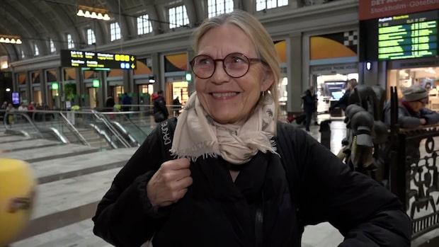"""Birgitta, 74: """"Frågan är när coronaviruset kommer"""""""