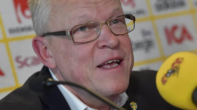 Janne Andersson. Foto: JONAS EKSTRÖMER/TT / TT NYHETSBYRÅN