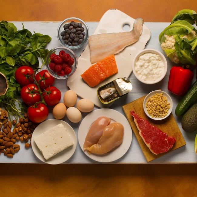 matsedel för diabetiker