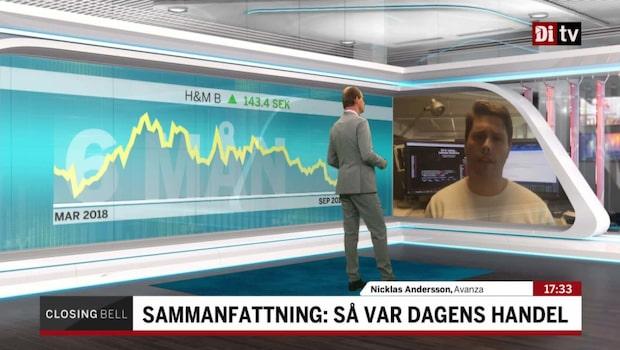 """Andersson: """"Vilken dag för H&M"""""""
