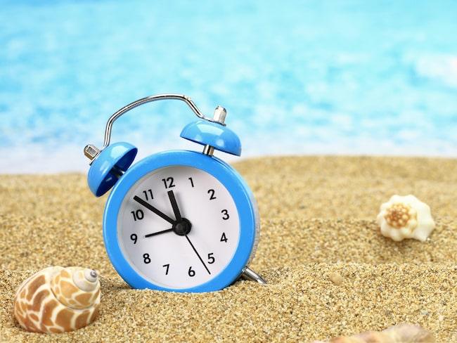 Sommartid gäller från natten till söndag den 26 mars i år.