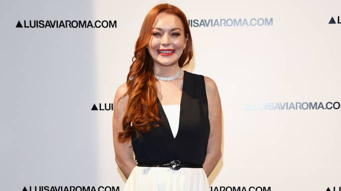 Fansen är nu oroade för Lindsay Lohan. Foto: Stefania D'Alessandro / GETTY IMAGES FOR LUISAVIAROMA GETTY IMAGES EUROPE