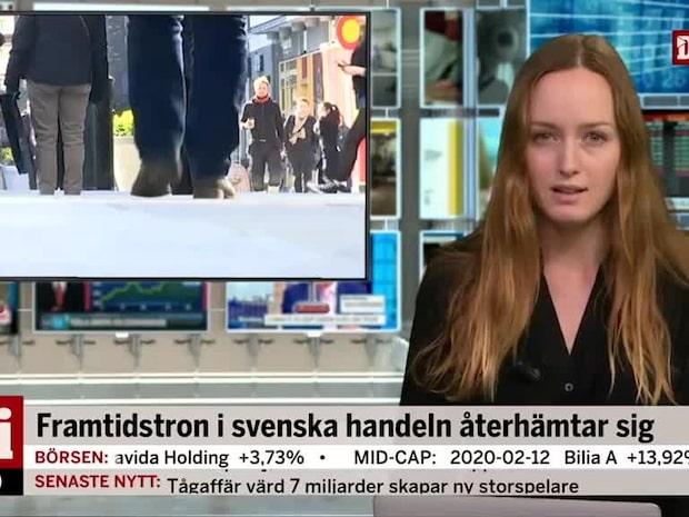 Di Morgonkoll: Något ljusare framtidstro hos svensk handel