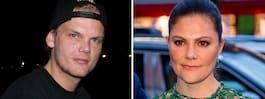 Victorias sorg för Avicii: Naturligtvis chockade