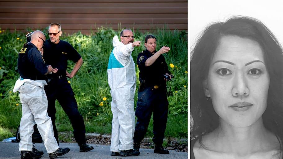 Lena Wessberg anmäldes försvunnen på morgonen den 15 maj.Vid 23.30-tiden,
