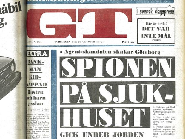 Spionaffären som skakade Göteborg